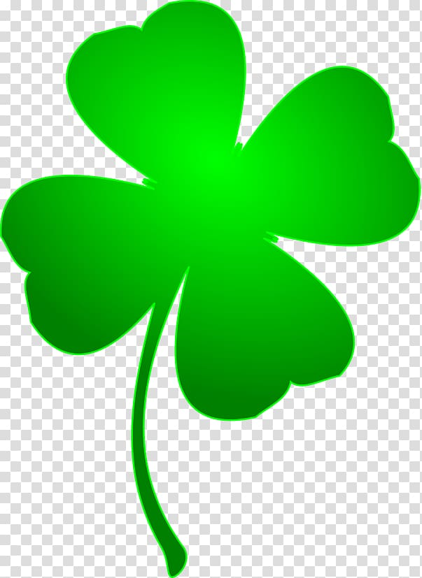 Clover leaf, St Patrick\'s Day Large Shamrock transparent.