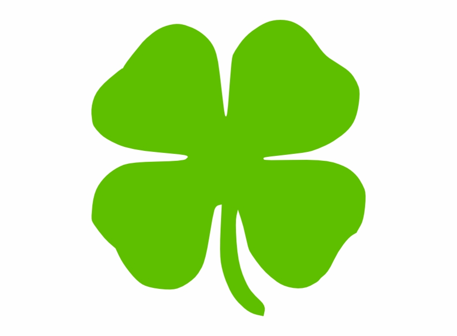 4 Leaf Clover Clip Art At Vector Clip Art.