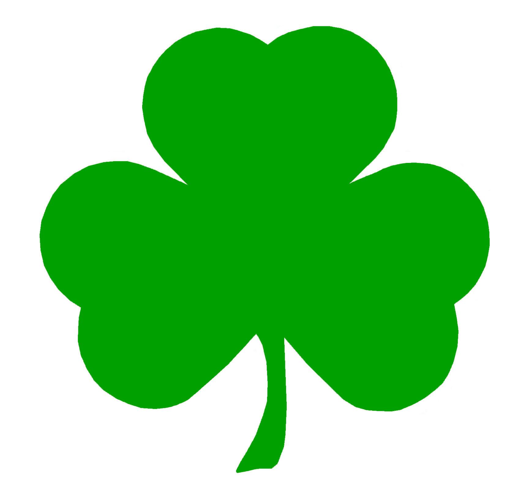Irish Shamrock Clipart.