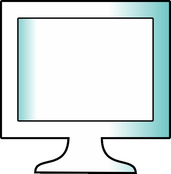 Lcd Monitor 1 Clip Art at Clker.com.