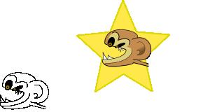 Crazy Monkey Clip Art at Clker.com.