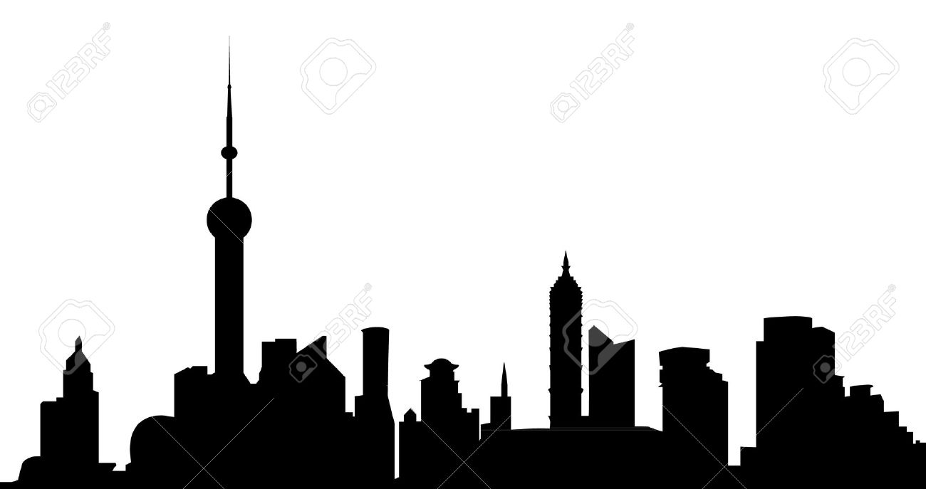 Shanghai clipart.