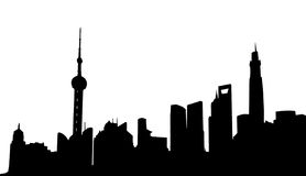 Shanghai Stock Illustrations.