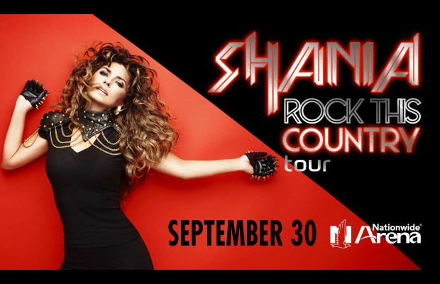 "Shania Twain ""Rock this Country"" tour."