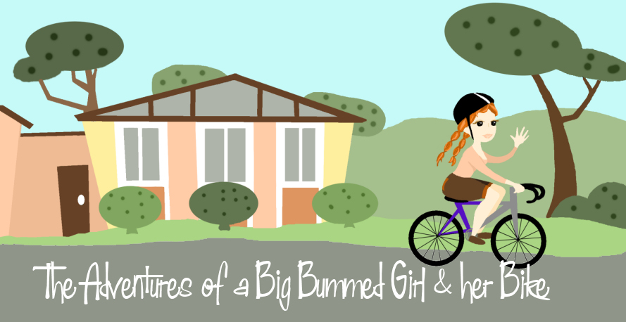 The Adventures of Big Bummed Girl and her Bike: Ghost Towns of.