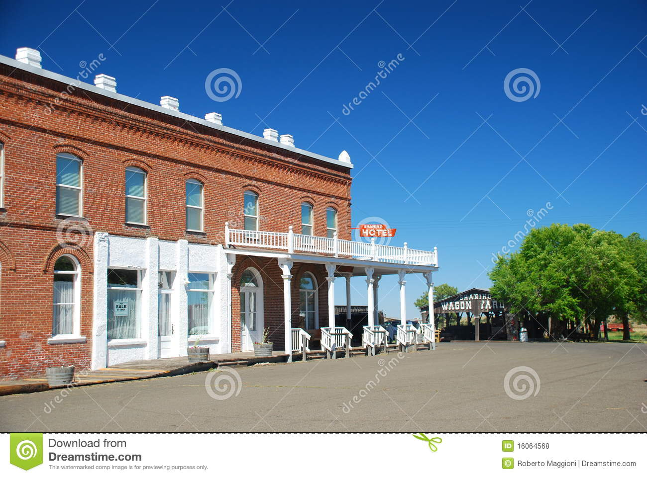 Shaniko Ghost Town Oregon Stock Photos, Images, & Pictures.