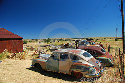 Shaniko Ghost Town, Oregon Stock Images.