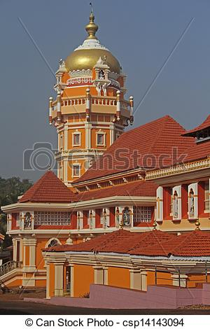 Stock Photographs of Shri Shantadurga Temple, Kunkallikarin.
