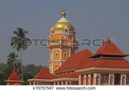 Picture of Shri Shantadurga Temple, Kunkallikarin, Fatorpa, Goa.