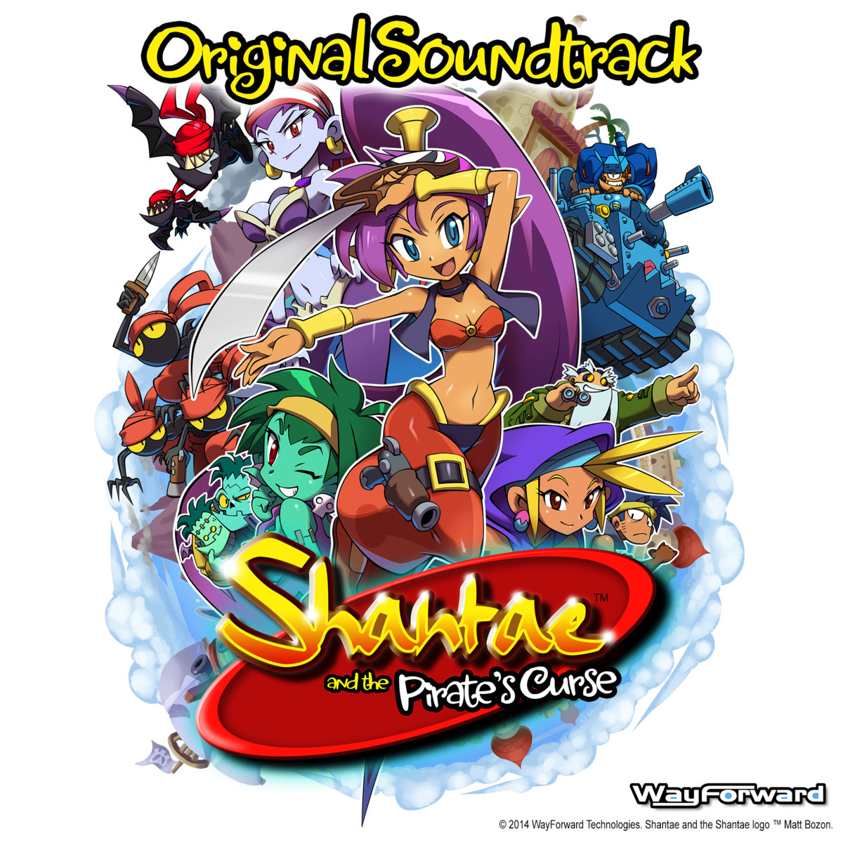 Shantae and the Pirate's Curse OST.