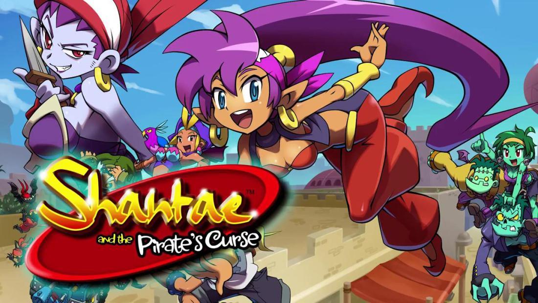 shantae and the pirate's curse.