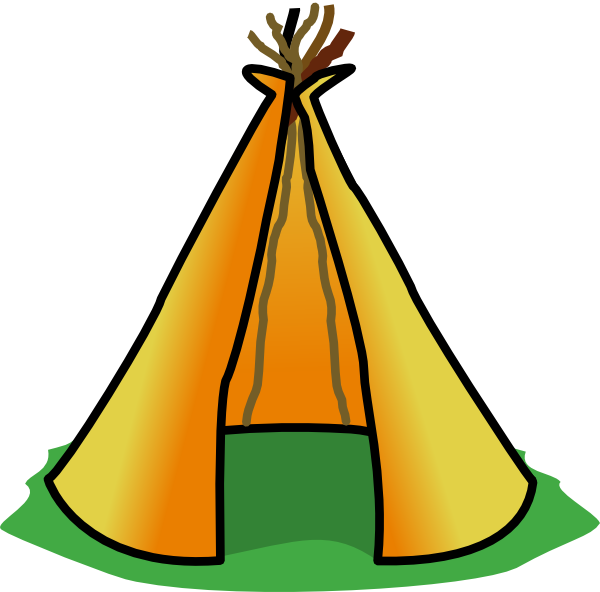 Tent 1 Clip Art at Clker.com.