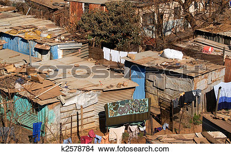 Stock Photo of Shanty town living. k2578784.