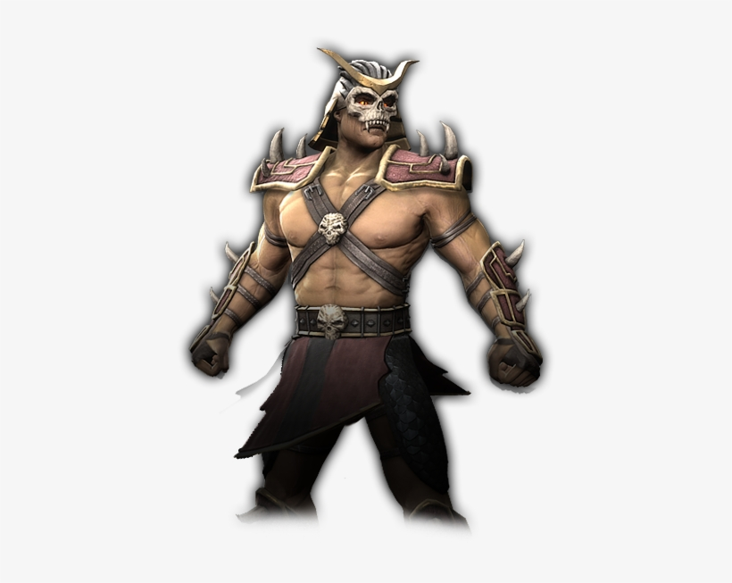Shao Kahn In Mortal Kombat 9.