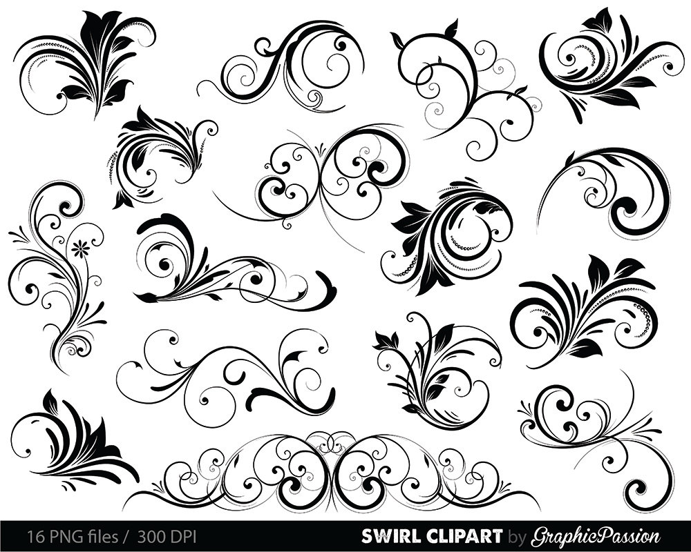 Wedding Shapes Clipart.