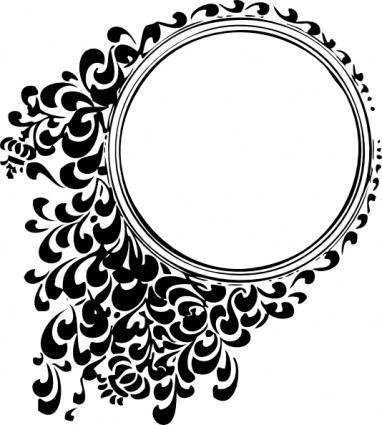 Round Shape Design Clipart.