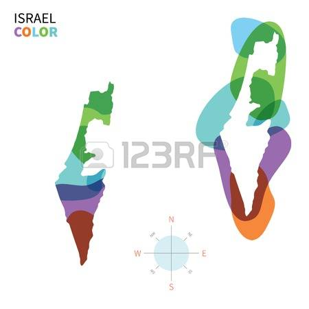 141 Israel Map Vector Stock Vector Illustration And Royalty Free.