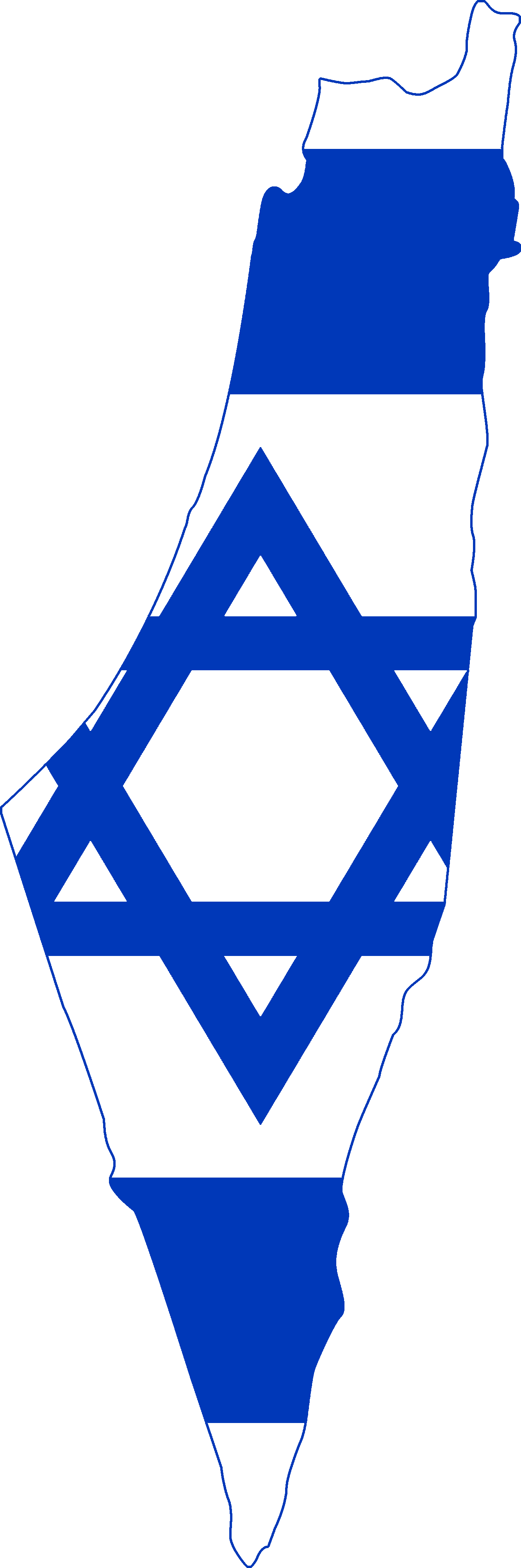 Shape Of Israel Map Clipart Transparent.