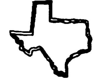 Collection of Texas clipart.