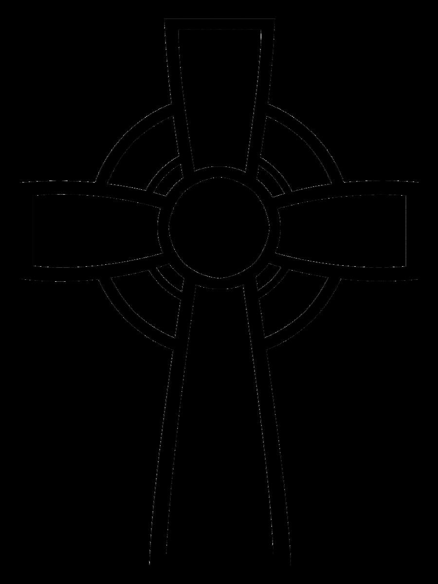 Celtic Cross Custom Shape for Photoshop by bigheadkyle2.