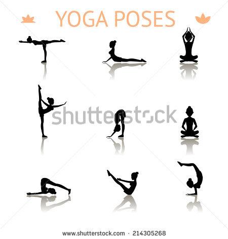 Yoga Clipart Stock Photos, Royalty.