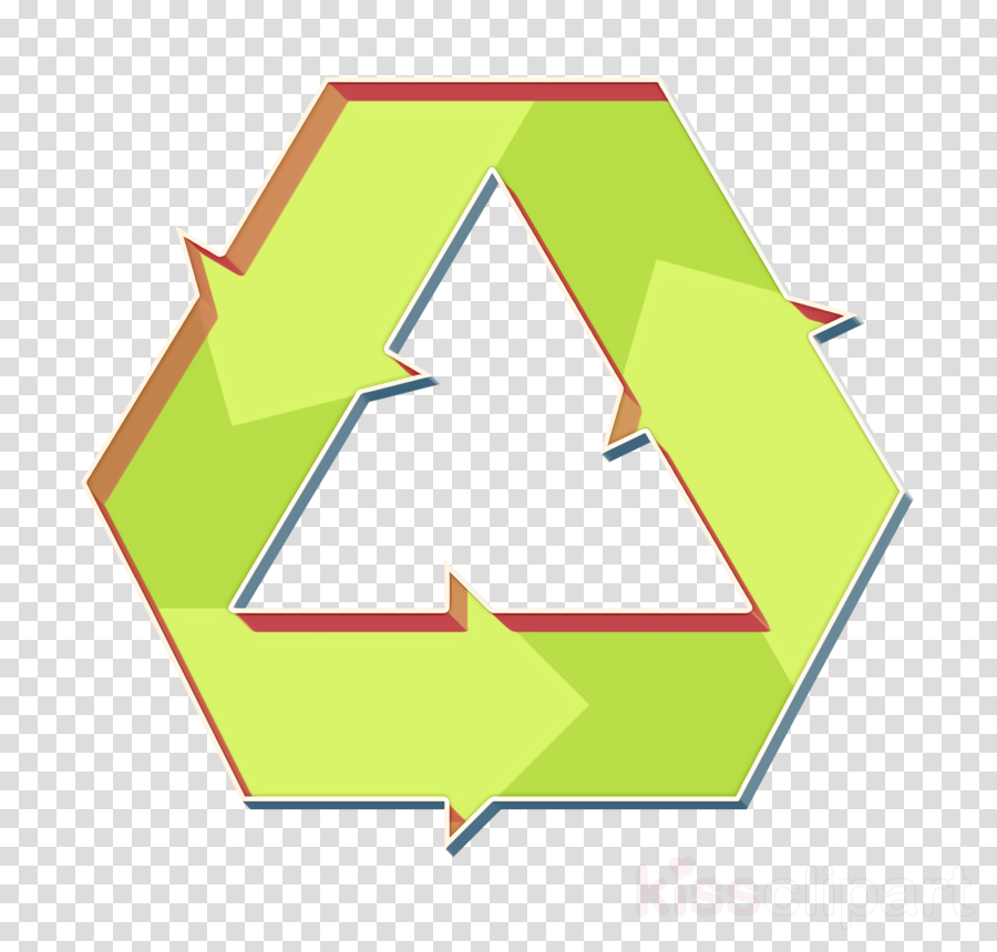 Recycle icon Shapes and symbols icon Sustainable Energy icon.