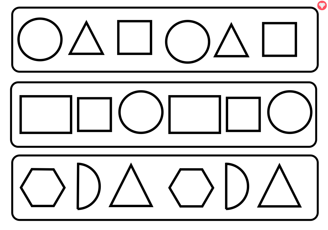 Free Shapes Black And White Clipart, Download Free Clip Art.