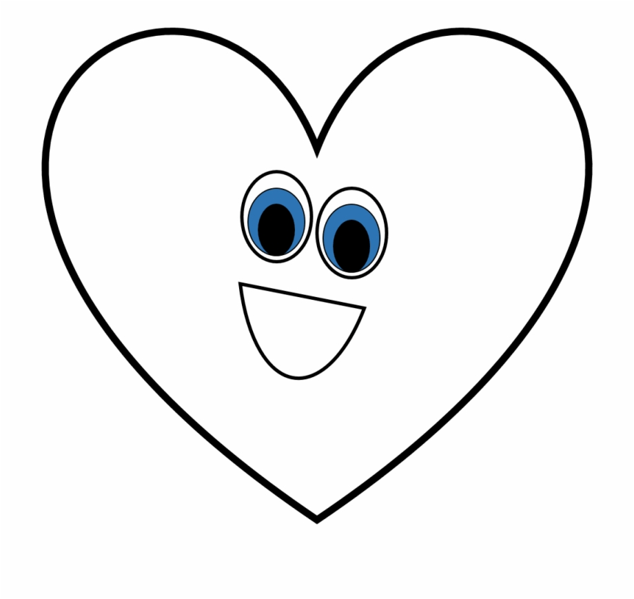 Clipart Black And White Shapes Free Creationz Heart.