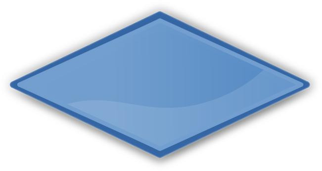 Shapes Clipart Blue.