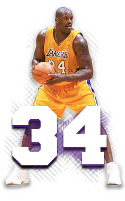 Shaquille O\'Neil.