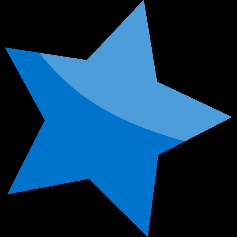 Star shard clipart.
