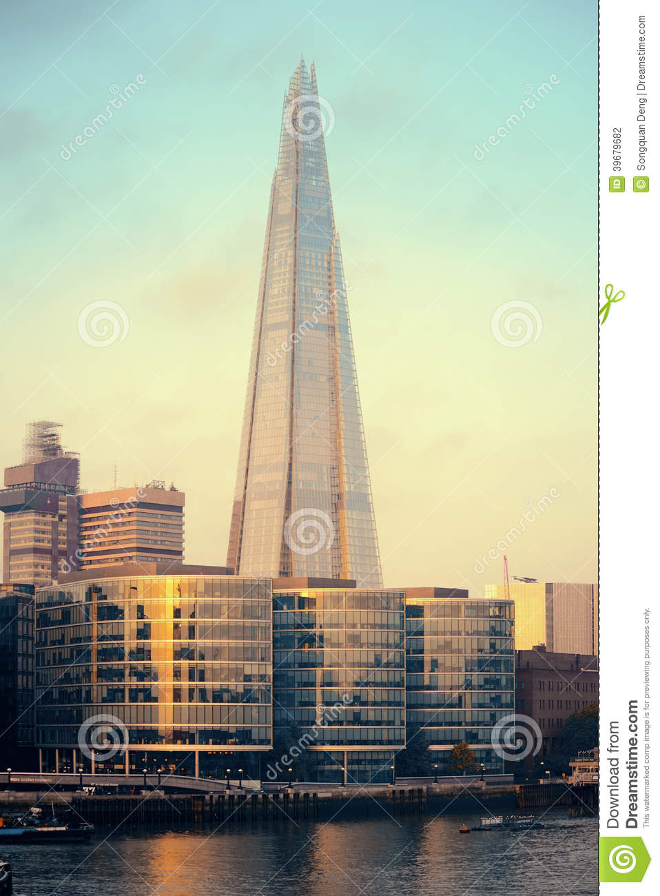 The Shard Editorial Photography.