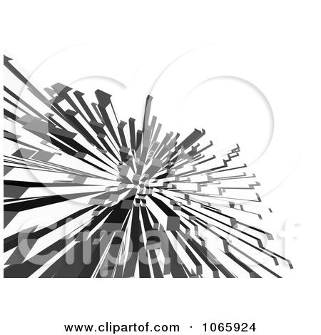 Clipart 3d Columnar Shards.
