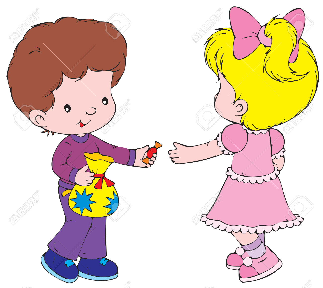 sharing toys clipart - Clipground