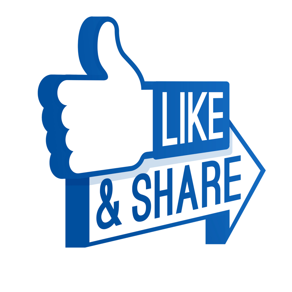 Facebook clipart share, Facebook share Transparent FREE for.