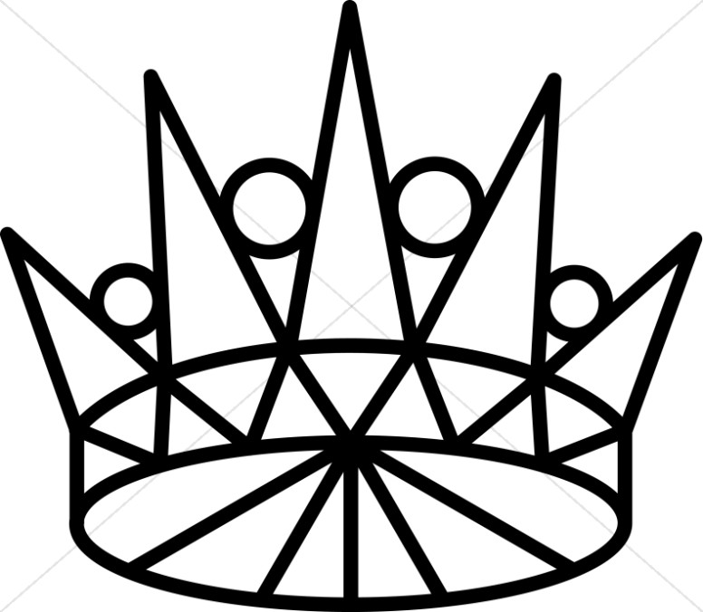 Line Art Crown.