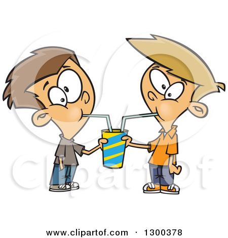 Showing post & media for Sharing food cartoon.