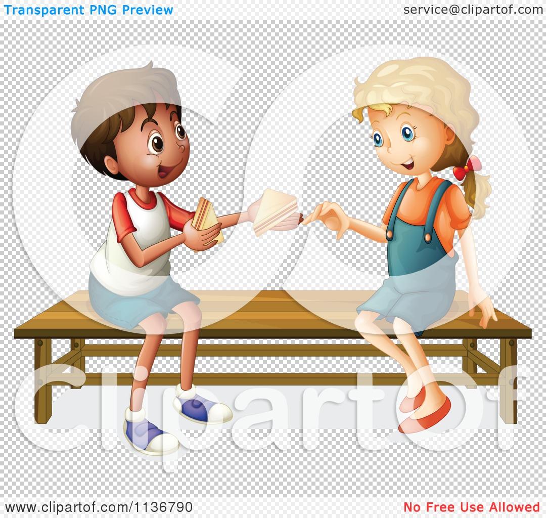 People Sharing Food Clipart No Watermark.