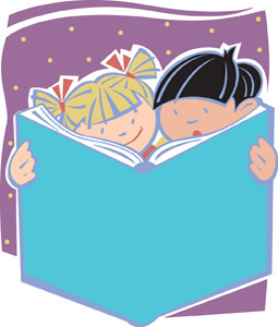 Shared Reading Clipart.