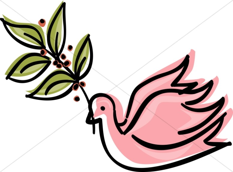 Dove clipart art graphic image sharefaith 7.