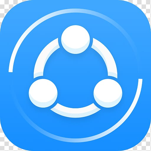 SHAREit Android File transfer, android transparent.