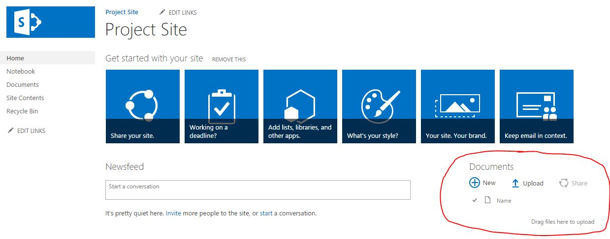 Why you should never use SharePoint default document library.