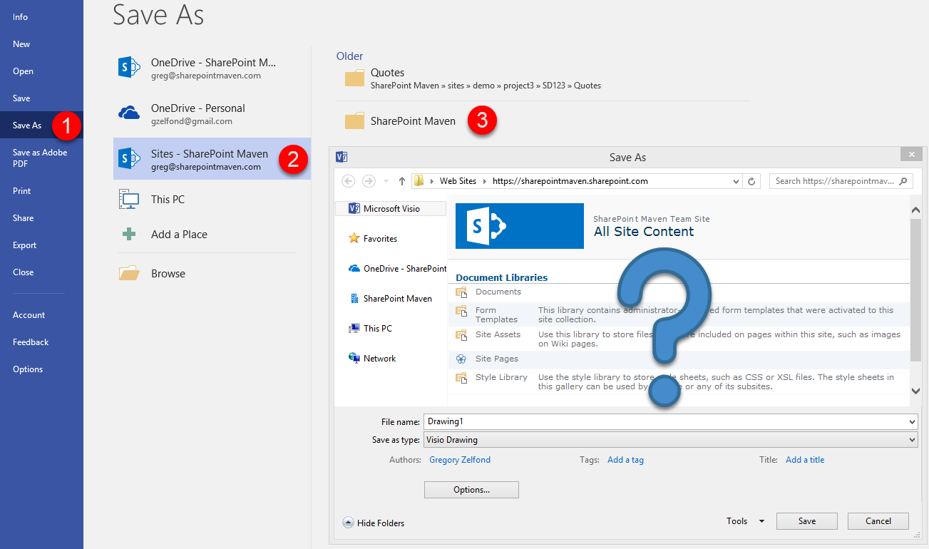 How to easily save to SharePoint from Word, Excel, and.