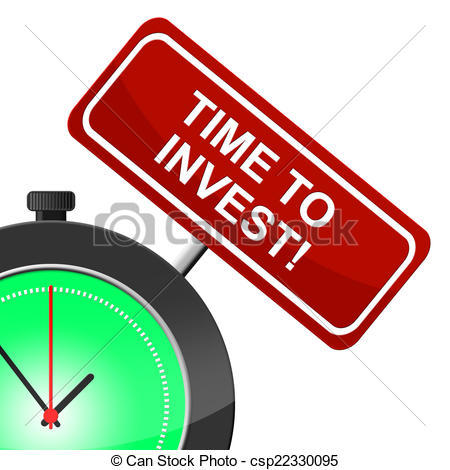 Shares Investment Clip Art.