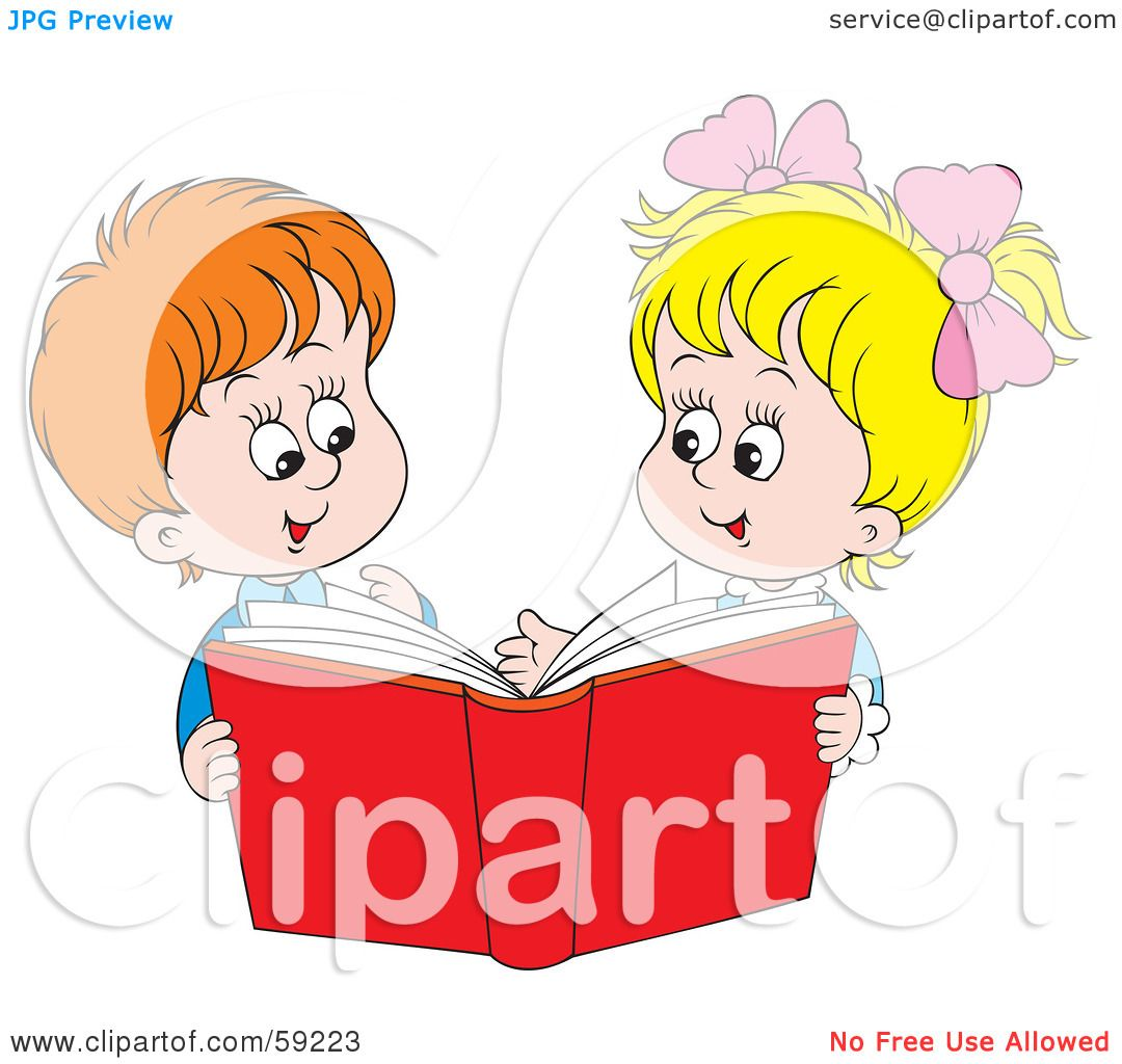Watch more like Sharing Books Clip Art.