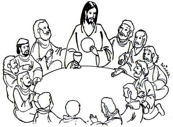 Last Supper Clip Art & Last Supper Clip Art Clip Art Images.