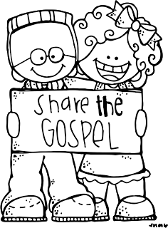 Share the Gospel.