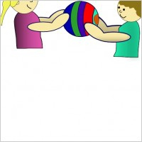 Sharing Toys Clipart#1920224.