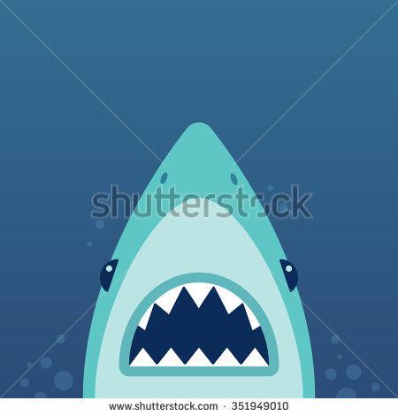 Shark Bite Stock Images, Royalty.
