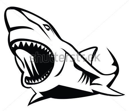 Shark Tattoos, Designs for tea towels.